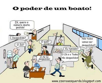 O PODER DE UM BOATO!