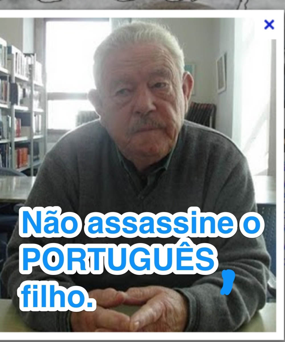 Nao assassine o portugues