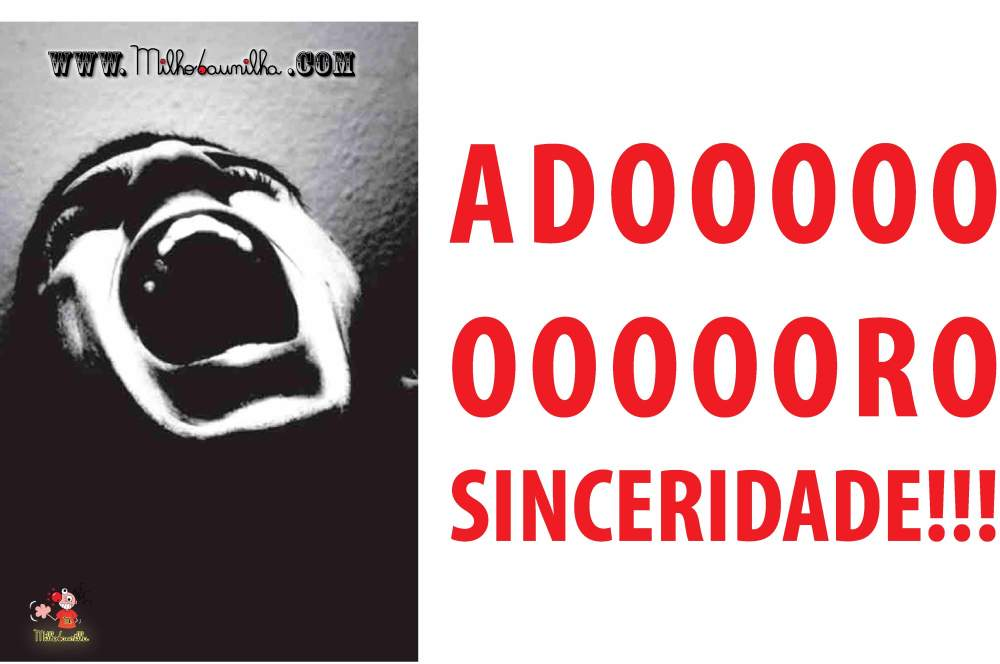 ADORO SINCERIDADE AMIGA! 2