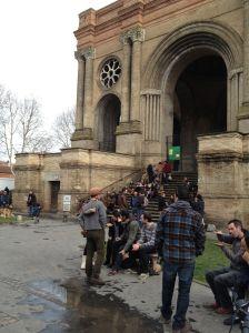 Escadaria do Marchê ST; Aubin (Toulouse - França) - uma das praças onde me apresentei